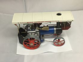 Unfired Mamod BLUE/Red  Showmans Engine one of 100